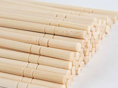 浙江4.5圆棒筷-20公分-裸筷